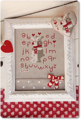 Love is Hot - Cross Stitch Pattern