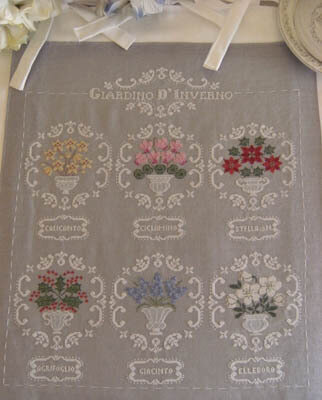 Giardino D'Inverno (Winter Garden) - Cross Stitch Pattern