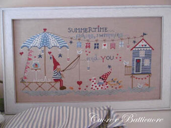 Summertime - Cross Stitch Pattern