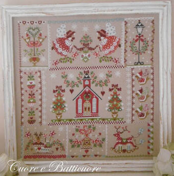 Christmas in Quilt - Cross Stitch Pattern