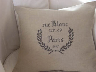 Rue Blanc 1887 - Cross Stitch Pattern