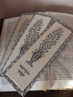 Marque Page (Bookmark) - Cross Stitch Pattern