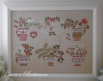 Natale in Tazza (Christmas in Cup) - Cross Stitch Pattern