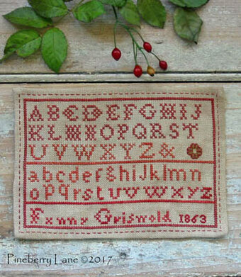 Fanny Griswold (An Antique Reproduction) - Cross Stitch Patt