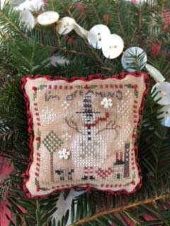 I'm Dreaming (2017 Ornament) - Cross Stitch Pattern