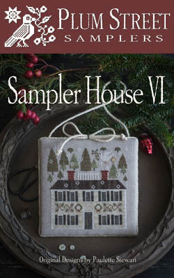 Sampler House VI - Cross Stitch Pattern