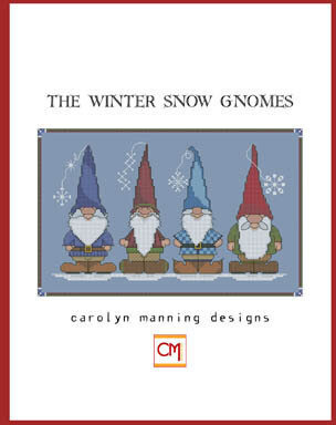 Winter Snow Gnomes - Cross Stitch Pattern