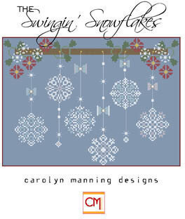 Swingin Snowflakes, The - Cross Stitch Pattern