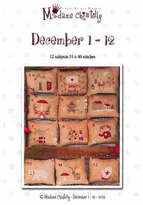 December 1-12 - Cross Stitch Pattern