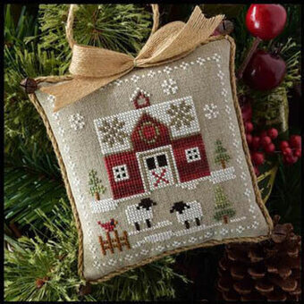 Little Red Barn - Farmhouse Christmas #1