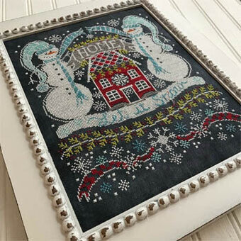 Let It Snow Bungalow - Cross Stitch Pattern