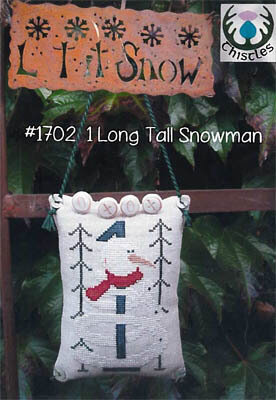 1 Long Tall Snowman - Cross Stitch Pattern