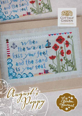 August's Poppy - Cross Stitch Pattern