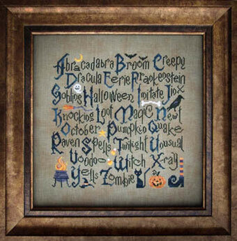 Halloween Sampler - Cross Stitch Pattern