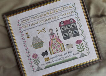 Needleworker's Samplers - Proverbs 31:13