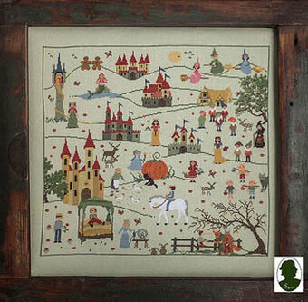 Favole (Fairy Tales) - Cross Stitch Pattern