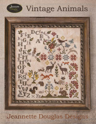 Vintage Animals - Cross Stitch Pattern
