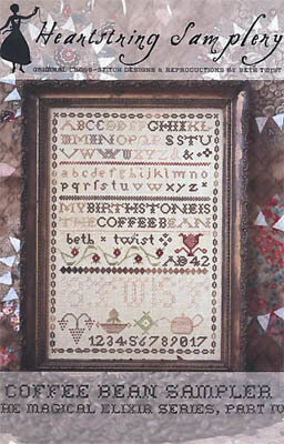 Coffee Bean Sampler - Cross Stittch Pattern