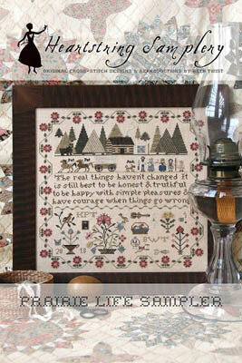 Prairie Life Sampler - Cross Stitch Pattern