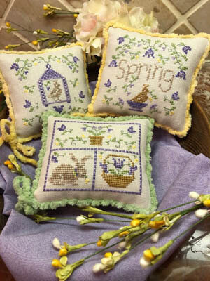 Spring Whimsies - Cross Stitch Pattern