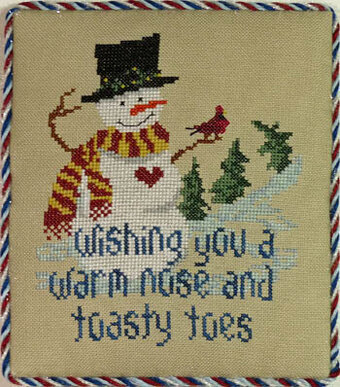 Snowman Wishes - Cross Stitch Pattern