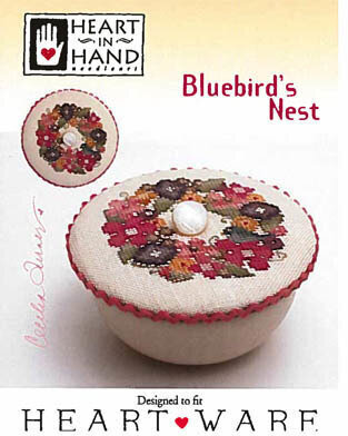 Bluebird's Nest - Cross Stittch Pattern