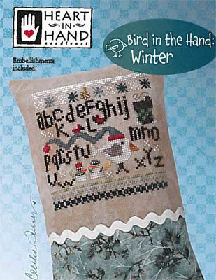 Bird in the Hand - Winter - Cross Stitch Pattern