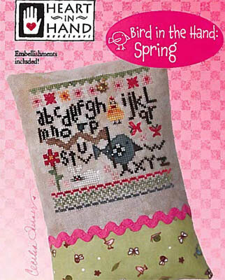 Bird in the Hand - Spring - Cross Stittch Pattern
