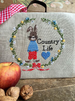 Country Life - Cross Stitch Pattern