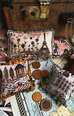 Travel Trifles - Cross Stitch Pattern