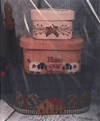 Shaker Sewing Box   - Cross Stitch Pattern