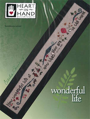 Wonderful Life - Cross Stittch Pattern