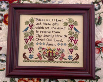 Bless Us - Cross Stitch Pattern