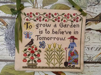 Grow a Garden - Cross Stitch Pattern