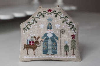 Saint Nicholas - Cross Stitch Pattern