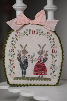 Lapins Malins - Smart Rabbits - Cross Stitch Pattern