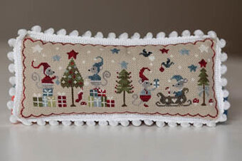 Noel De Souris - Christmas of Mice - Cross Stitch Pattern