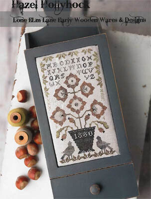 Hazel Hollyhock - Cross Stitch Pattern