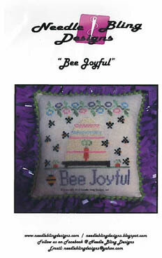 Bee Joyful - Cross Stitch Pattern