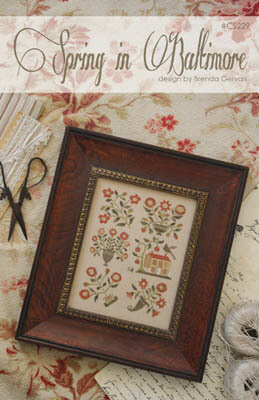 Spring in Baltimore - Cross Stitch Pattern