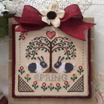Sheltering Tree - Spring - Cross Stitch Pattern