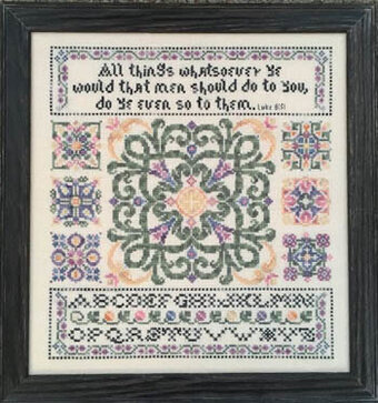 Golden Rule - Cross Stitch Pattern