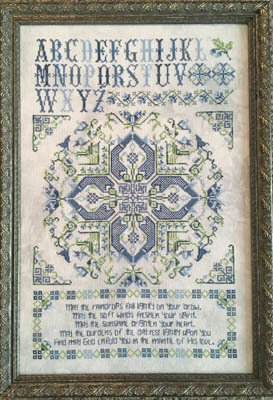Leeds House Sampler - Cross Stitch Pattern