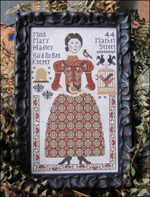 Miss Mary Hadley - Cross Stitch Pattern