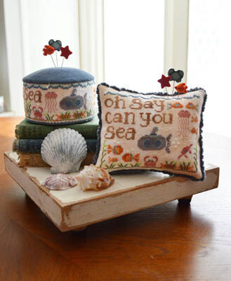 Oh Say Can You Sea - Cross Stitch Pattern