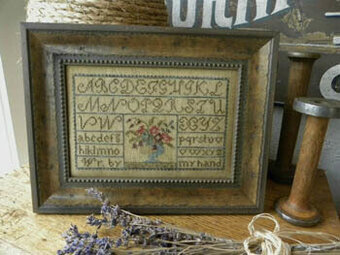 Painted Threads Sampler - Cross Stitch Pattern