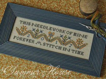 Forever in Stitches - Cross Stitch Pattern
