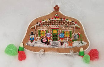 Gingerbread Camper - Cross Stitch Pattern