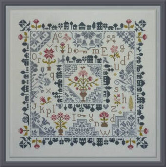 Village Quaker - Cross Stitch Pattern