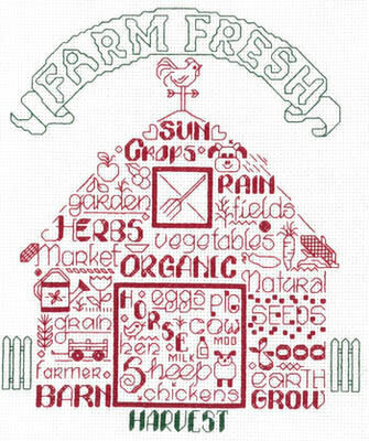 Let's Farm - Cross Stitch Pattern